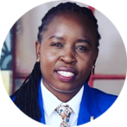 Headshot portrait of Esther Adhiambo